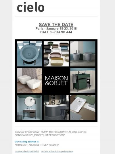 Maison&Objet 2018<br />12/01/2018