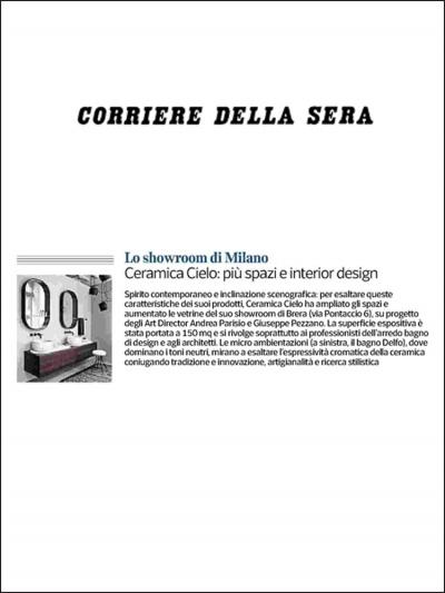 Corriere della Sera<br />Febbraio 2019