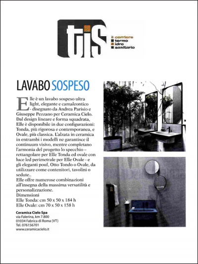 TIS Corriere Termo Idro Sanitario<br />Febbraio 2019