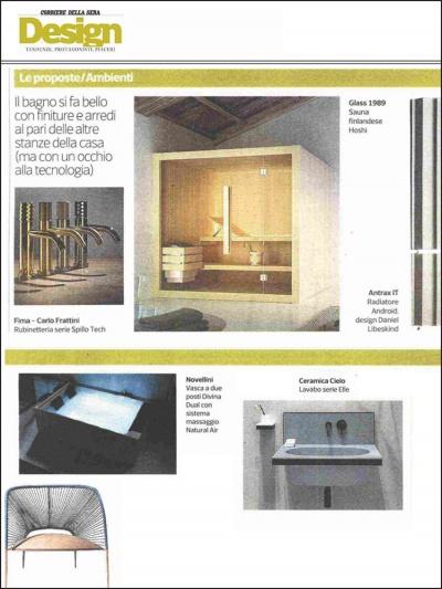 Corriere della Sera Design<br />Novembre 2019