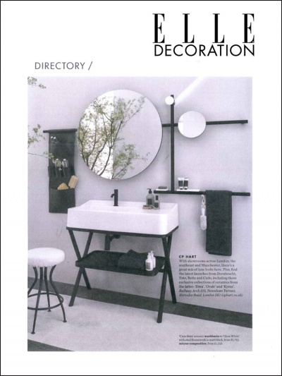 <span>Elle Decoration UK</span><br /><span>Ottobre 2019</span>