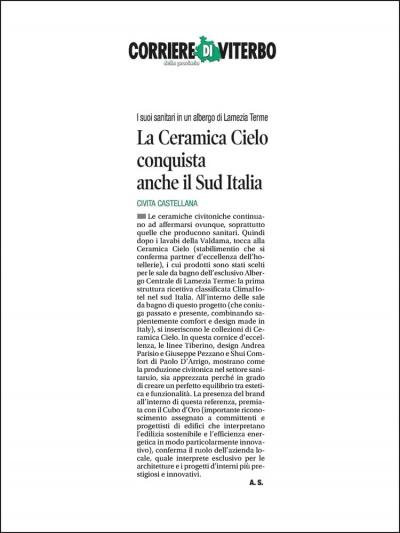 Corriere di Viterbo<br />Novembre 2020