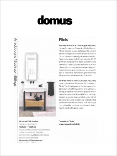 Domus<br />Aprile 2021