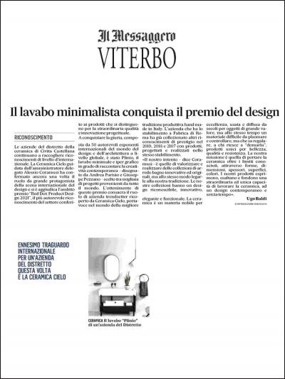 Messaggero di Viterbo<br />Aprile 2021