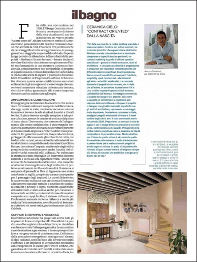 Il Bagno Oggi e Domani<br />август2021