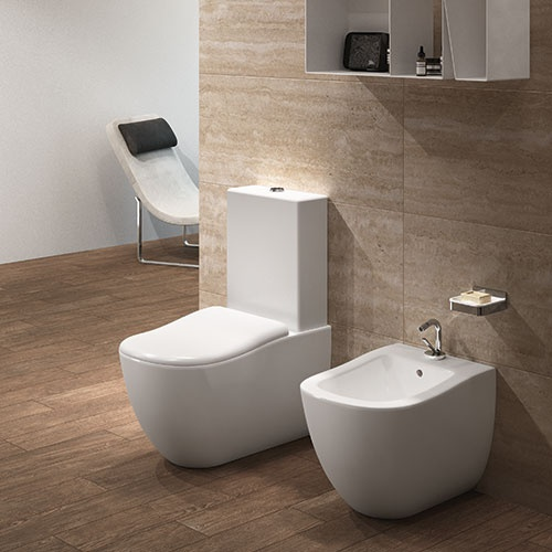 Monoblock wc