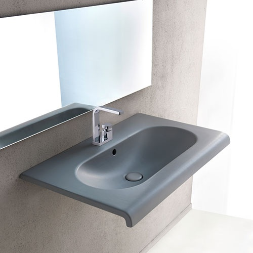 Wall-hung washbasin 80