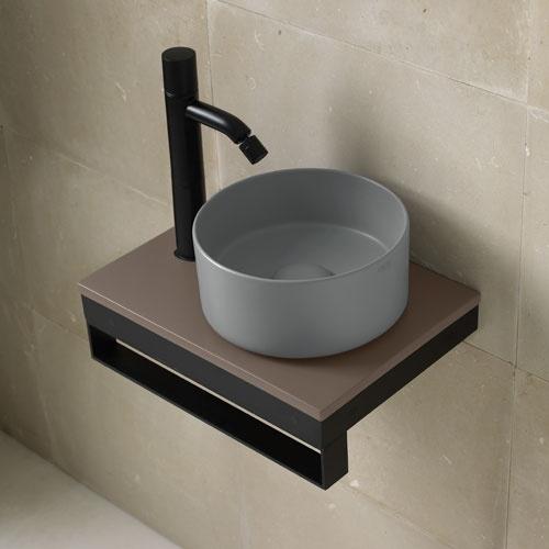 Minimo round washbasin