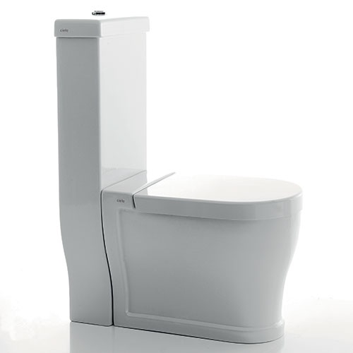 Wc Tondo with monoblock cistern
