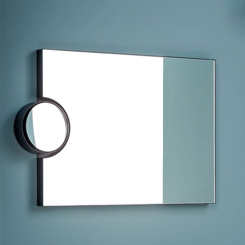 Polifemo mirror with led light with switch