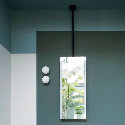 specchio Argo a soffitto