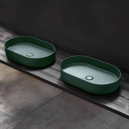 Shui Comfort oval washbasin 60 x 38