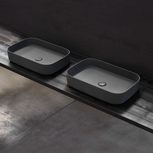 Shui Comfort rectangular washbasin 60 x 40