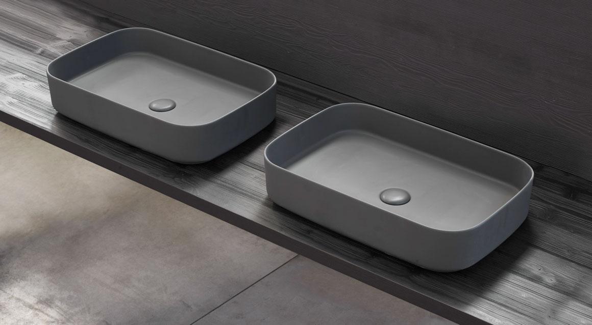 Shui Comfort rectangular washbasin 60 x 40