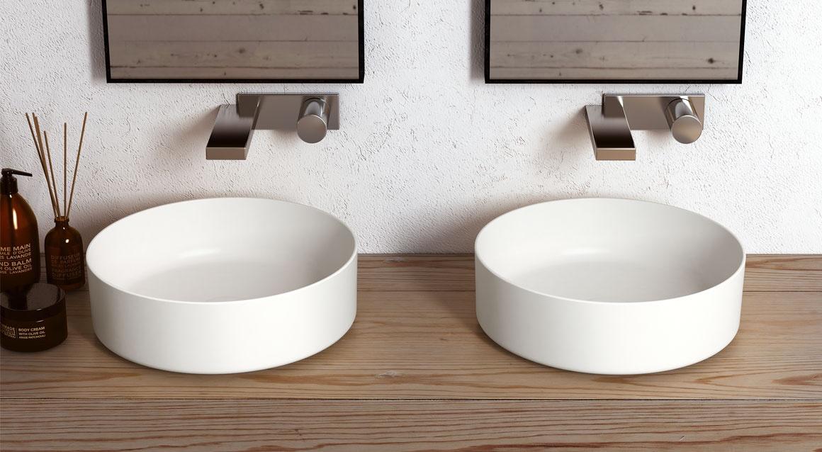 Shui Comfort round washbasin 40