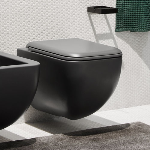 Wall-hung wc rimless