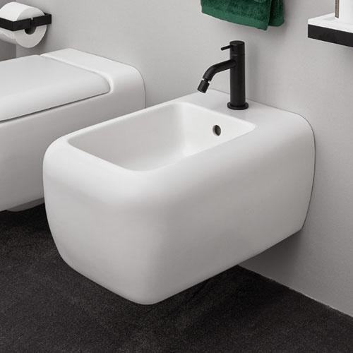 Wall-hung one hole BIG bidet