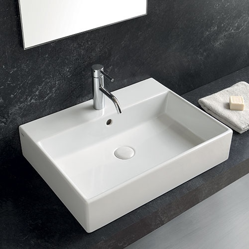 Rectangular washbasin 50