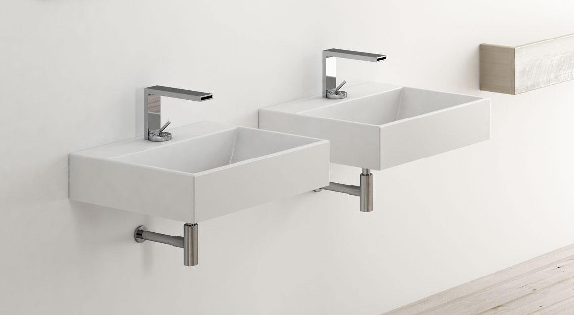 Rectangular washbasin 50