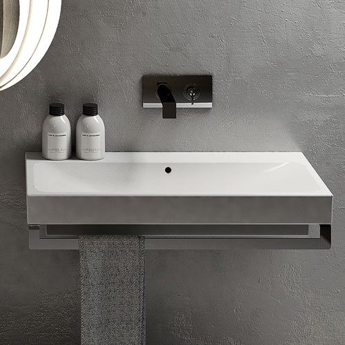 Square washbasin 100
