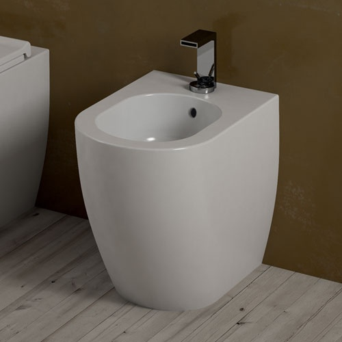 MINI back to wall one-hole bidet
