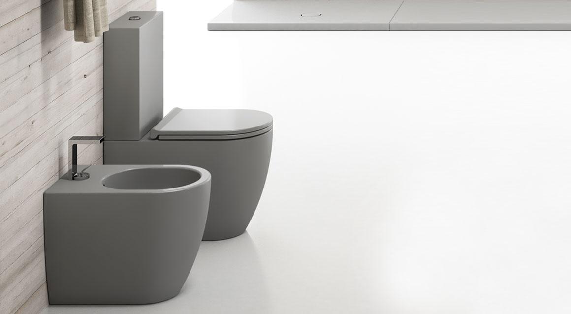 MINI Monoblock wc and cistern