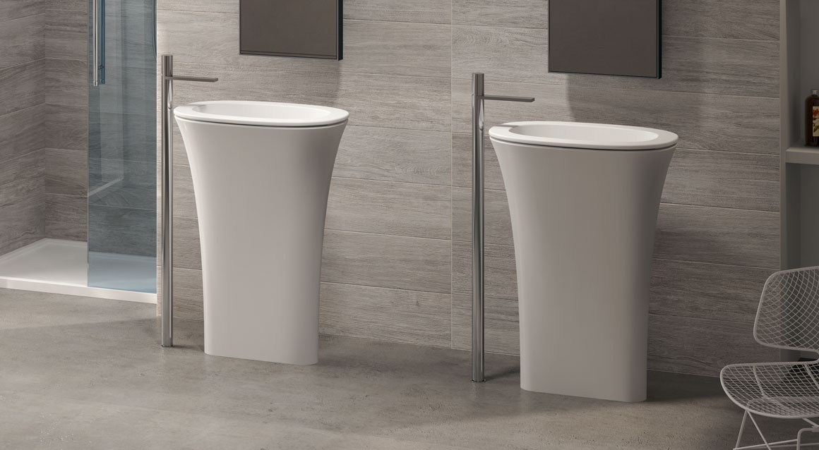 Amedeo Ovale freestanding washbasin