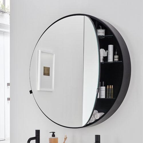 Round Box mirror