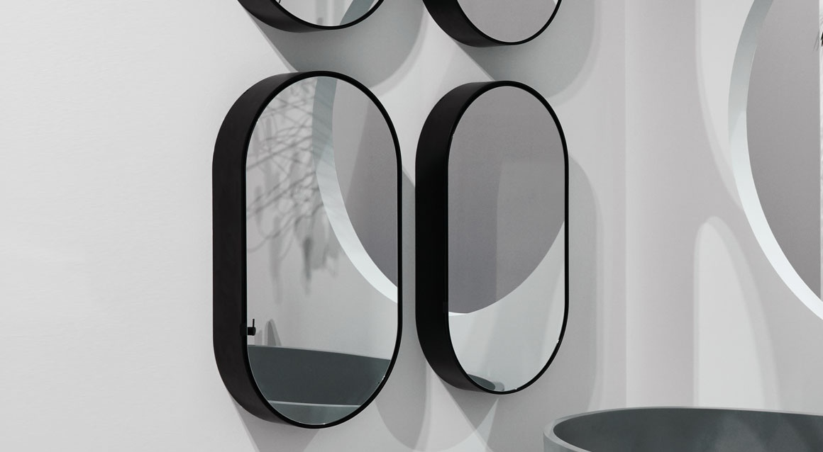 Oval Box mirror