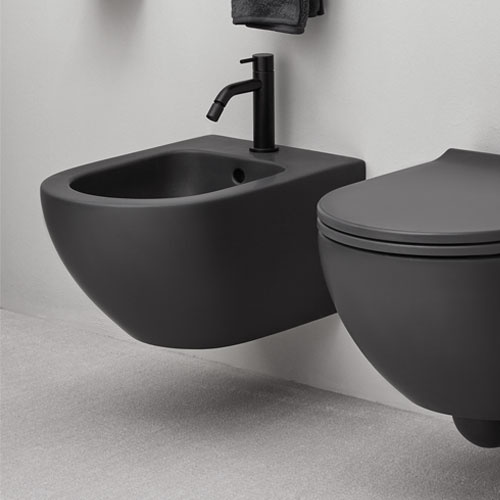 Wall-hung one hole bidet 48