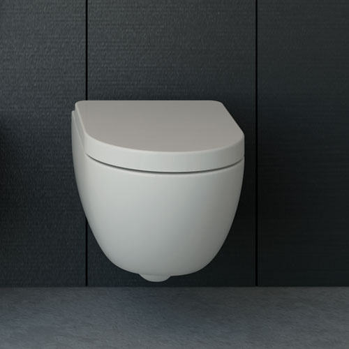 Wall-hung wc 48 rimless
