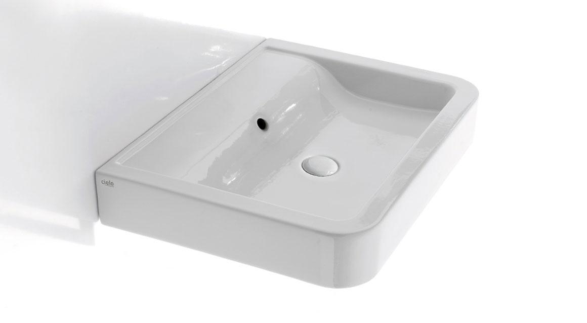 Wall-hung washbasin 70