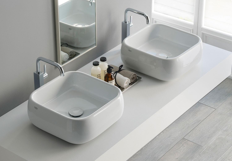 Rectangular on top washbasin 40