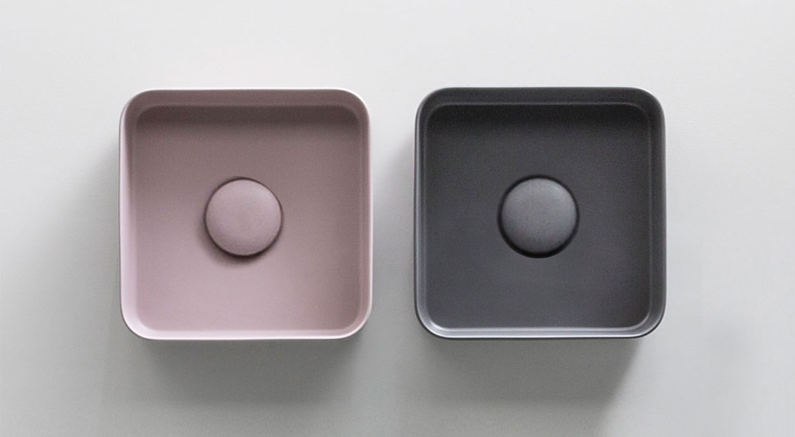 Minimo square washbasin