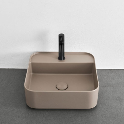 Shui Comfort round washbasin 45, with one hole