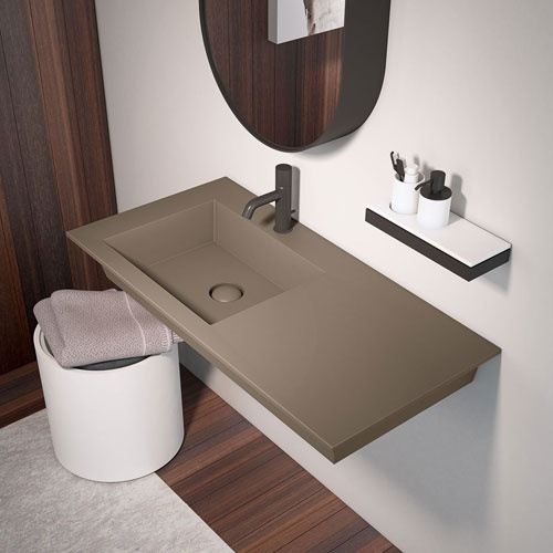 Wall-hung washbasin 120