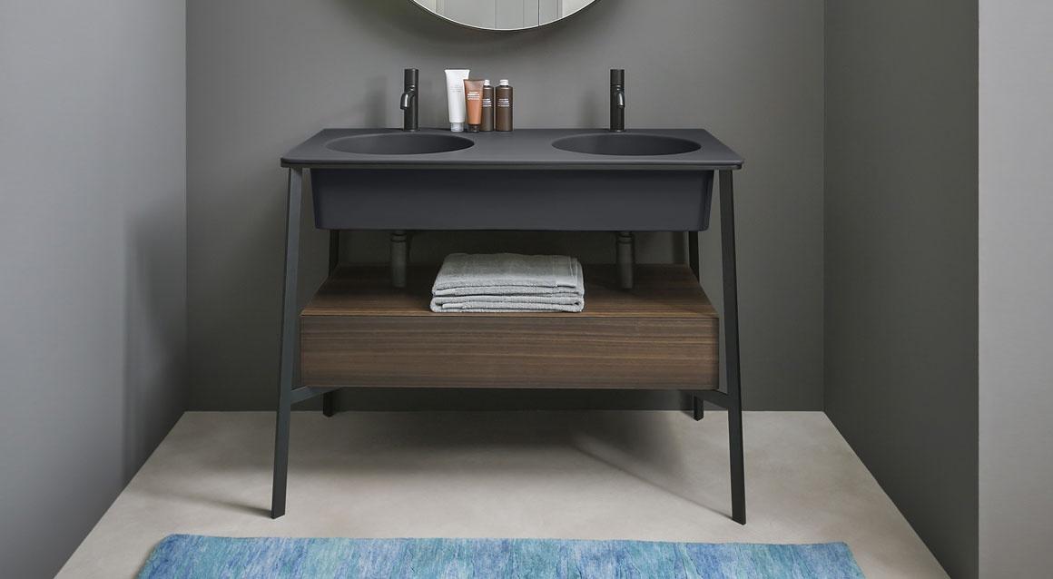 Catino Doppio with drawer