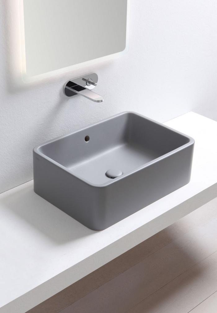 Rectangular washbasin 60 - Brina