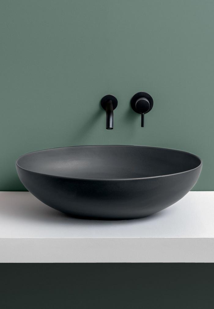 Eco on top bowl - Basalto