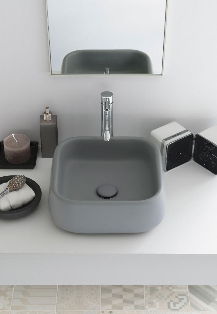 On top washbasin 40 - Brina