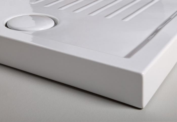 Gloss White Settanta shower tray