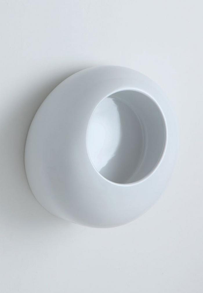 Ball Urinal Glossy White