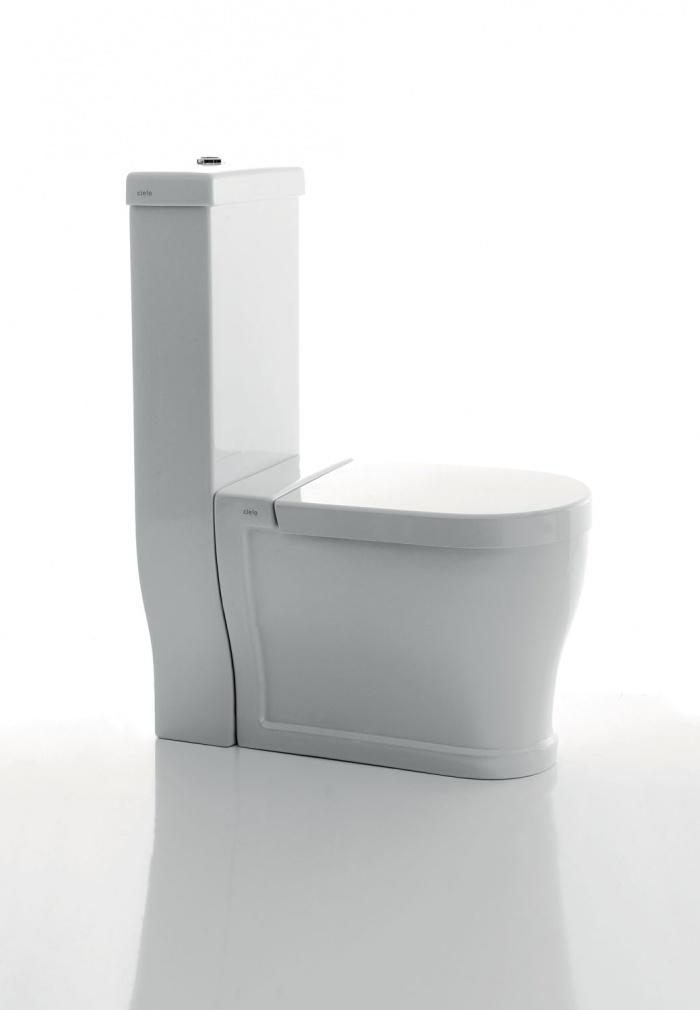 Monoblok wc. Glossy White wc.