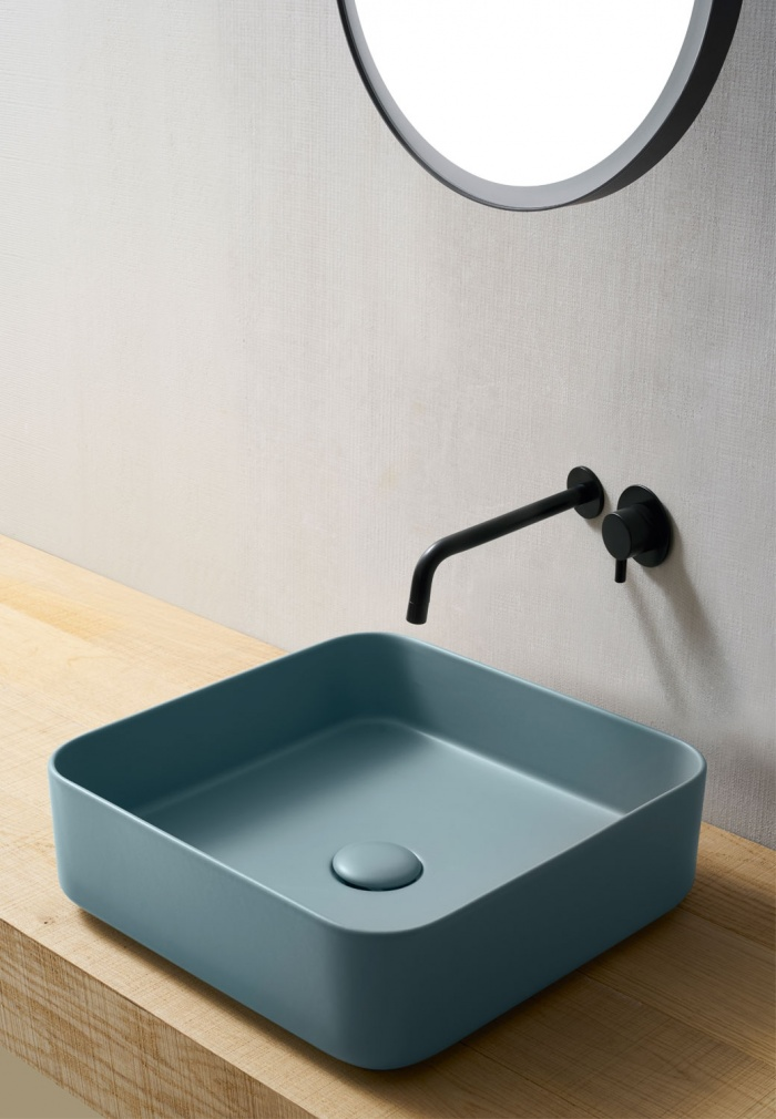 Square washbasin 40 - Polvere
