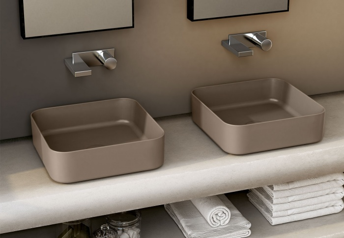 Square washbasin 40 - Arenaria