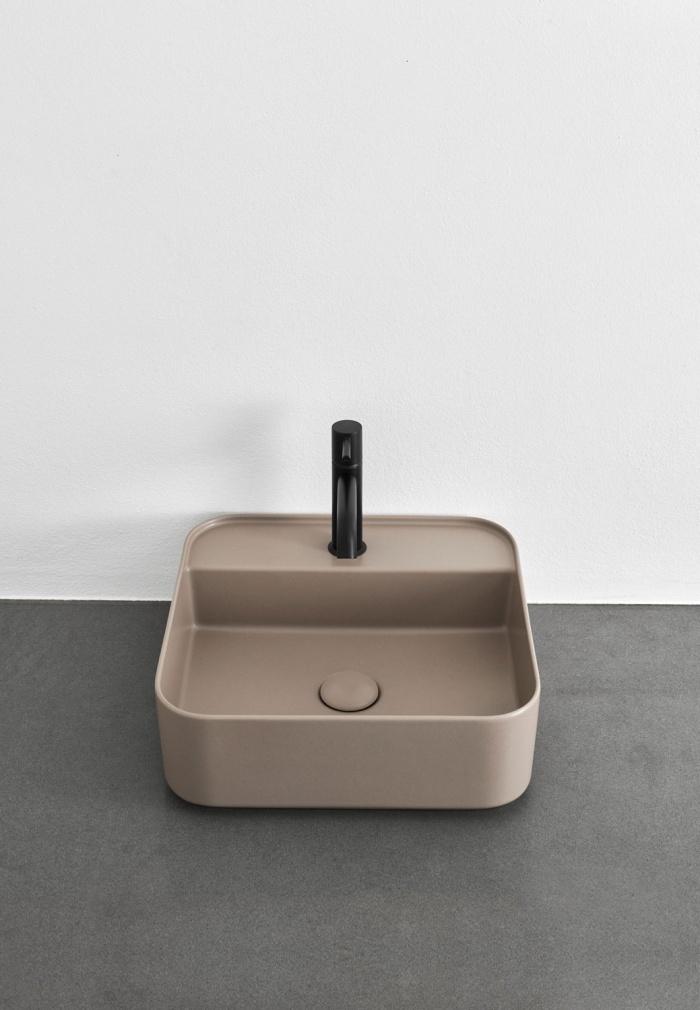 Shui Comfort square washbasin - Arenaria