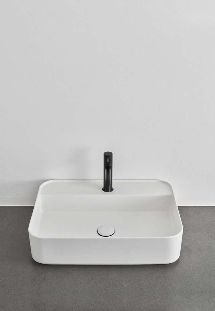 Shui Comfort rectangular washbasin - Talco