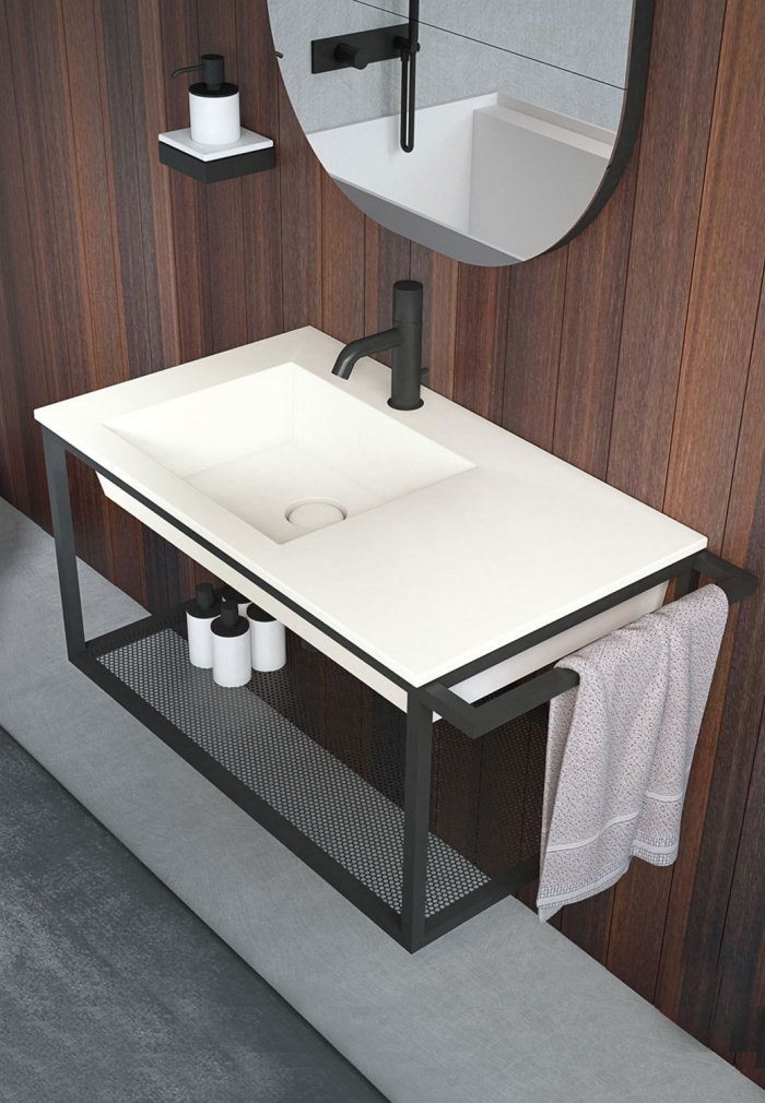 Washbasin 80 with structure - Talco